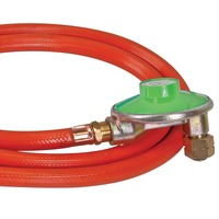 "Low Pressure 3/8"" LH Regulator with Hose by Companion"