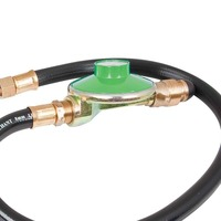 Low Pressure POL Regulator with Hose 1200mm x 1/4BSP by Companion
