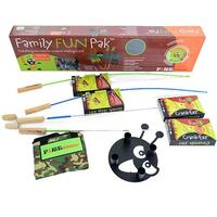 Fire Fishing Pole and Crank Eez Family Fun Pack by Firebuggz