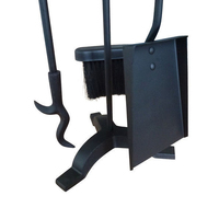 3 Piece plus Stand Fireplace Tool Set