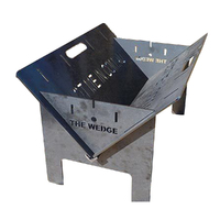 Made in Australia - The Wedge Portable Fire Pit